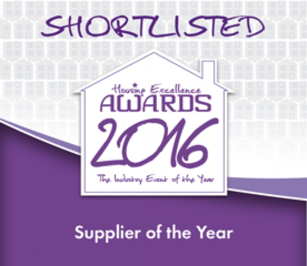 Gas Safe Europe has been shortlisted for 'Supplier of the Year' at the 2016 Housing Excellence Awards